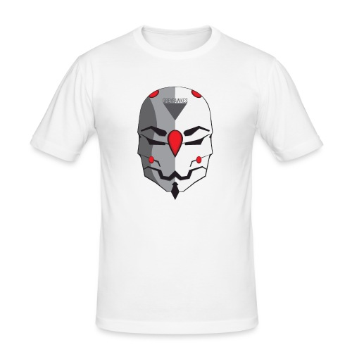 Greyfawkes logo colored - Men's Slim Fit T-Shirt