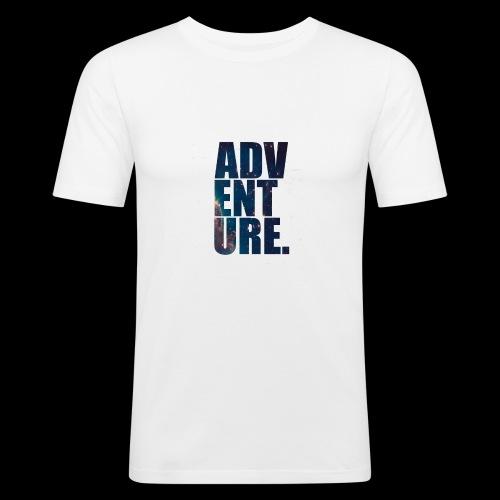 Adventure T-Shirt - Slim Fit T-skjorte for menn