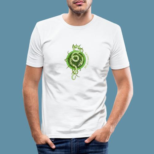 Jormungand logo png - Maglietta aderente da uomo
