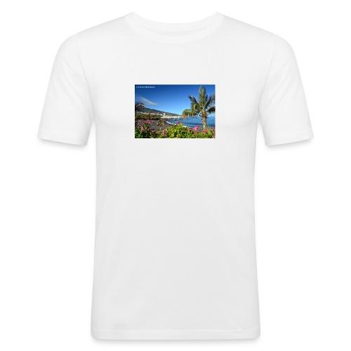 Playa Jardin - Männer Slim Fit T-Shirt