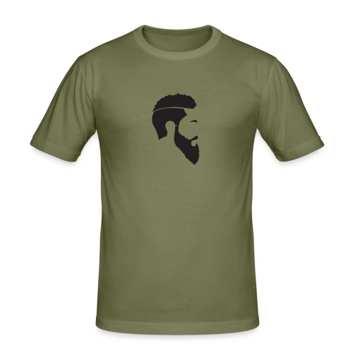 HEAD WHITE T-SHIRT - Slim Fit T-shirt herr