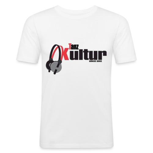 Tanz Kultur Stroke Logo 2000x2000 png - Männer Slim Fit T-Shirt