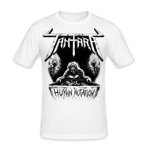 tshirt human mutation daa - Slim Fit T-skjorte for menn