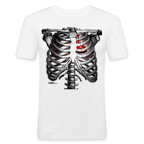 heart tv - Men's Slim Fit T-Shirt