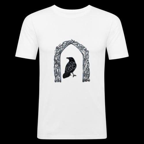 Celtic Raven - Men's Slim Fit T-Shirt
