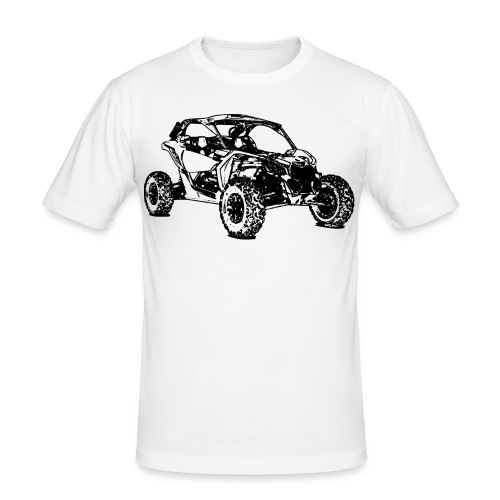 Side by Side car Offroad - Männer Slim Fit T-Shirt