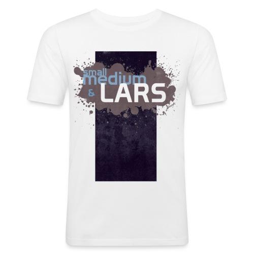 Small Medium LARS - Slim Fit T-shirt herr