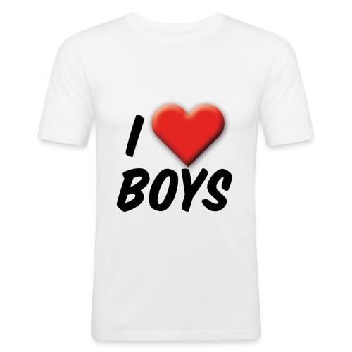 iloveboys 2 - Männer Slim Fit T-Shirt