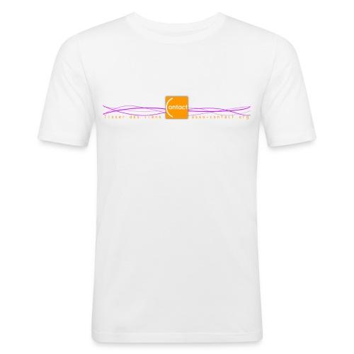 Tisser des liens - asso-contact.org - T-shirt près du corps Homme