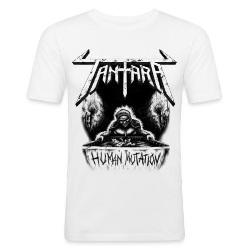 tshirt human mutation daa - Slim Fit T-skjorte for menn