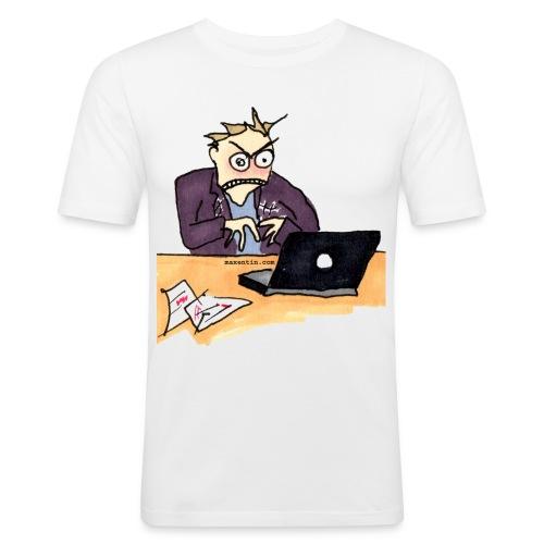 sur - Slim Fit T-shirt herr