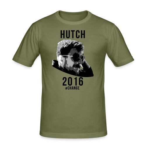 hutchwhite - Men's Slim Fit T-Shirt