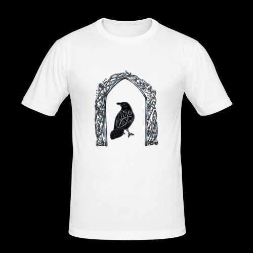 Celtic Raven - Men's Slim Fit T-Shirt