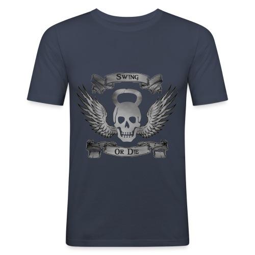 Swing or die png - T-shirt près du corps Homme