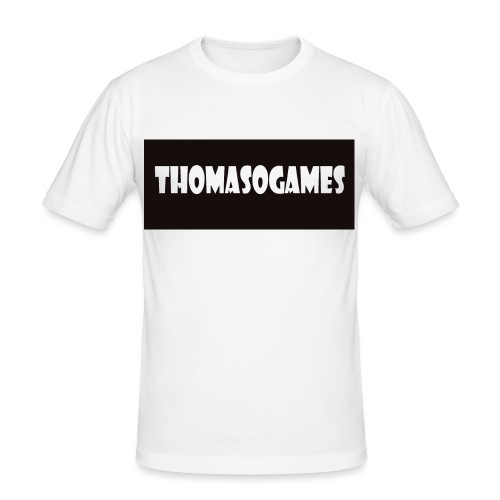 ThomasoGames Logo - slim fit T-shirt