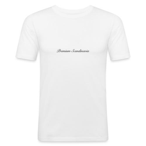 Premium Scandinavia Deksel 4/4S - Slim Fit T-skjorte for menn