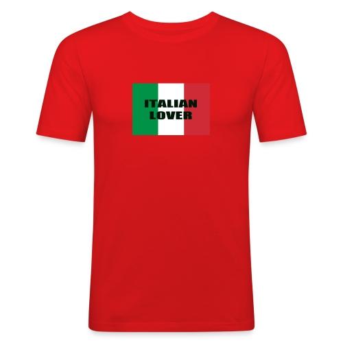ITALIAN LOVER - Maglietta aderente da uomo