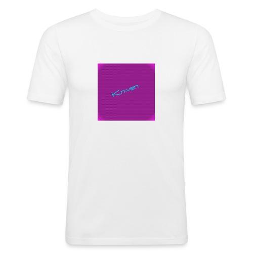 Kniven055 T-shirt - Slim Fit T-shirt herr