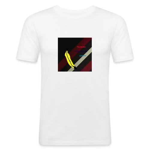 HCG Banaan - Mannen slim fit T-shirt