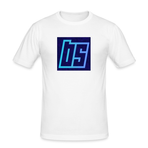 backgrounder_-17- - Men's Slim Fit T-Shirt