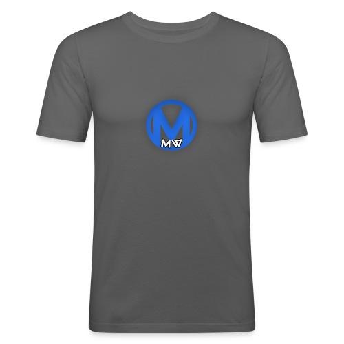 MWVIDEOS KLEDING - Mannen slim fit T-shirt