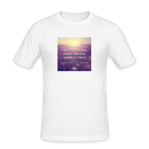 1440698865_graphic-quote-estee-lauder - Herre Slim Fit T-Shirt
