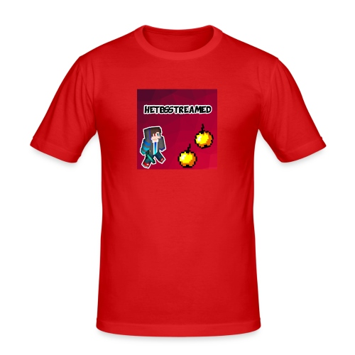 Logo kleding - Mannen slim fit T-shirt