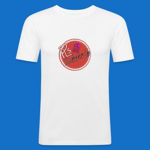 PLsSubscrib - Men's Slim Fit T-Shirt
