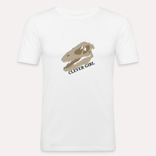 """""""Clever girl"""" raptor design - Men's Slim Fit T-Shirt"""