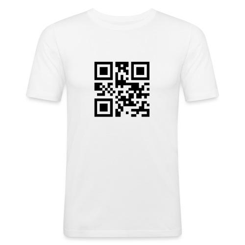 Sono Single QR Code - Maglietta aderente da uomo