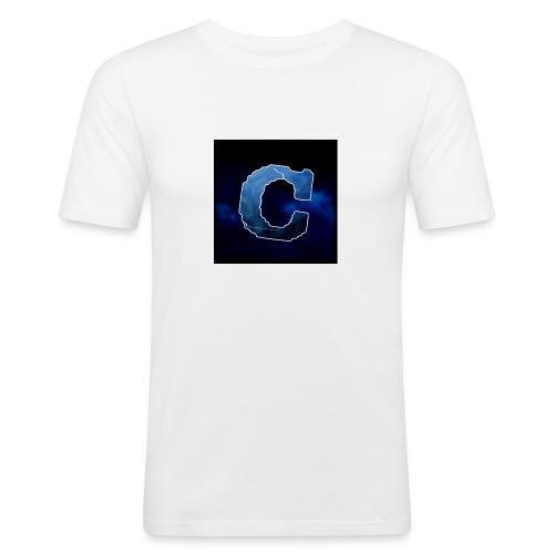 Min nye shop! - Slim Fit T-skjorte for menn
