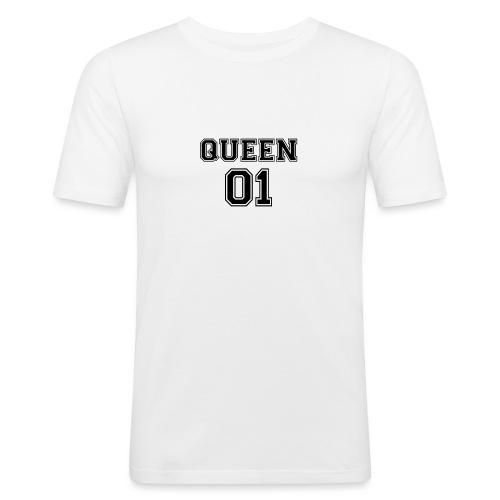 Queen 01 - T-shirt près du corps Homme