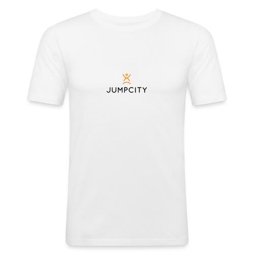 jumpcity - Mannen slim fit T-shirt