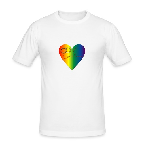 coeurcouleurlove - T-shirt près du corps Homme