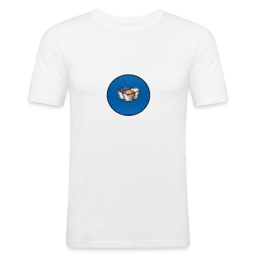 BucketShirt Standaart - Mannen slim fit T-shirt