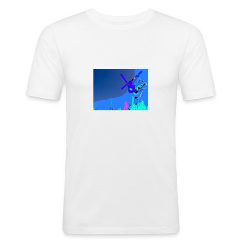 mortens_twintiper - Slim Fit T-skjorte for menn
