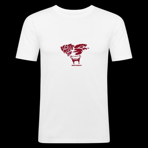 beastmode - Männer Slim Fit T-Shirt