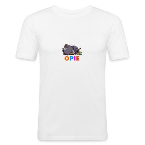 OPIE - Slim Fit T-skjorte for menn