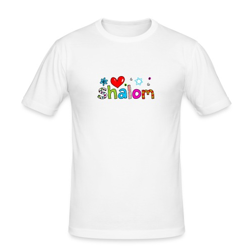 Shalom II - Männer Slim Fit T-Shirt