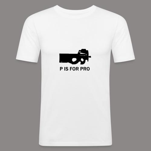 P90 PRO png - Men's Slim Fit T-Shirt