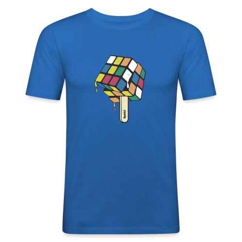 Rubik's Cube Ice Lolly - Men's Slim Fit T-Shirt