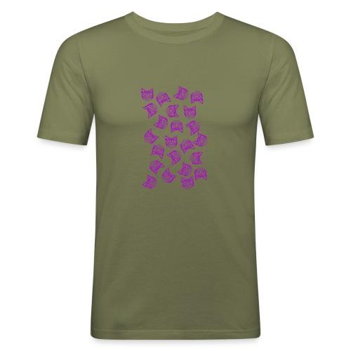 Magenta Mollys - Miesten tyköistuva t-paita