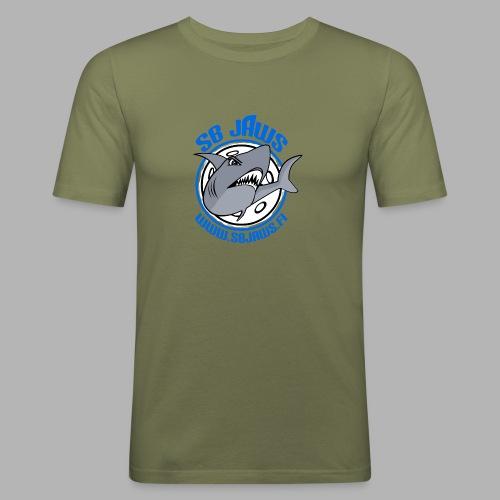 SB JAWS - Miesten tyköistuva t-paita