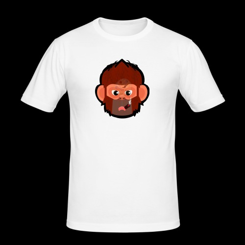 PoGo Mask t-shirt - Herre Slim Fit T-Shirt