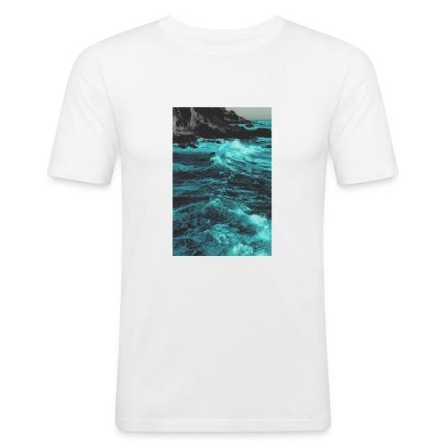 paradise-jpg - Mannen slim fit T-shirt