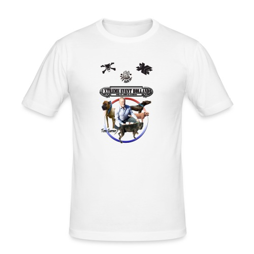 Xtreme Event Holland with Tom Garner - Mannen slim fit T-shirt