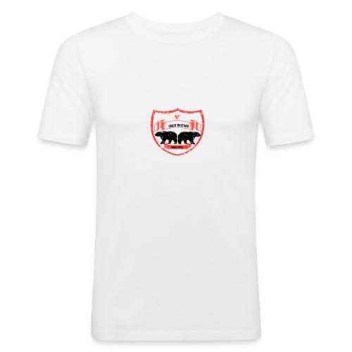 Crazy bastard - Herre Slim Fit T-Shirt