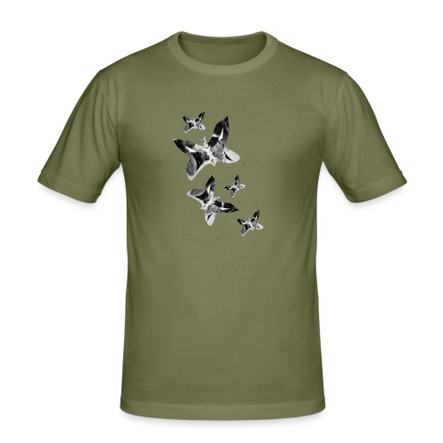Schmetterlinge - Männer Slim Fit T-Shirt