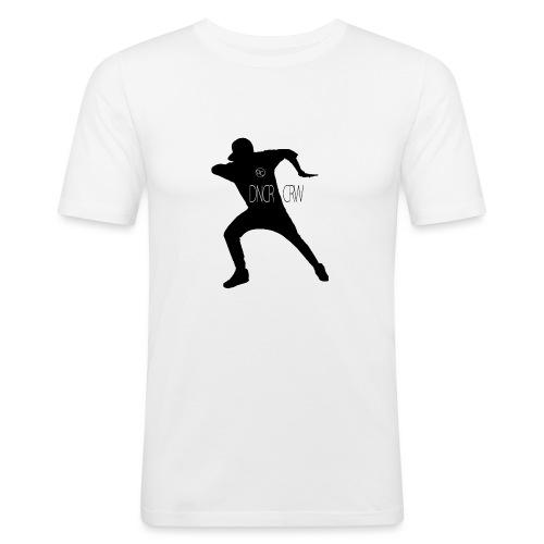 DCLogo_black - Männer Slim Fit T-Shirt