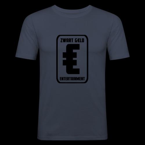 ZwartGeld Logo Sweater - Mannen slim fit T-shirt